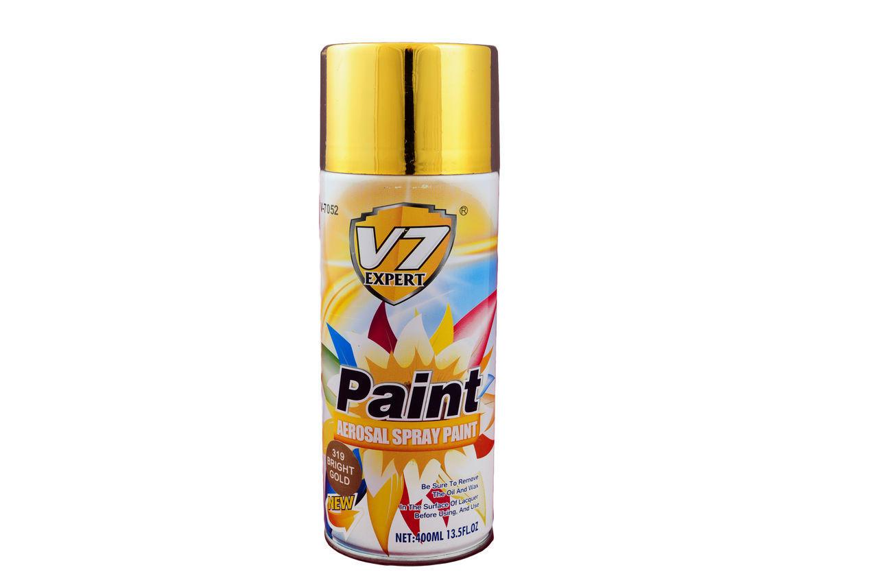Краска аэрозольная PRC V7 - золото, 400 мл 1
