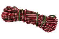 Шнур бытовой Украина - вязаный 4 мм х 15 м, цветной