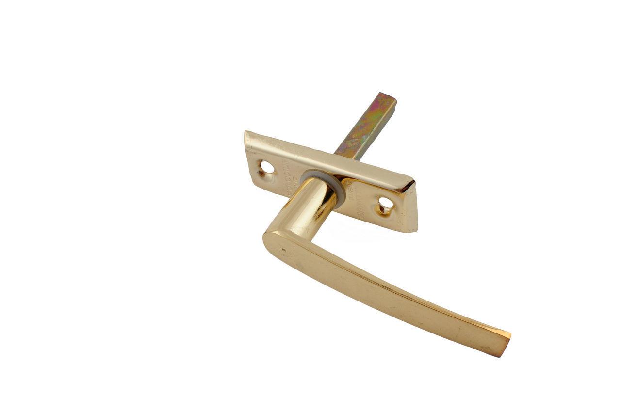 Ручка оконная FZB - Polodium РВ (золото) 1