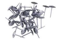 Гвозди мебельные FZB - гладкие CP (хром)