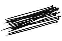Хомут пластиковый Intertool - 4,8 х 400 мм черный (100 шт.)