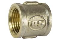 Муфта никель STA - 1/2В х 1/2В, премиум