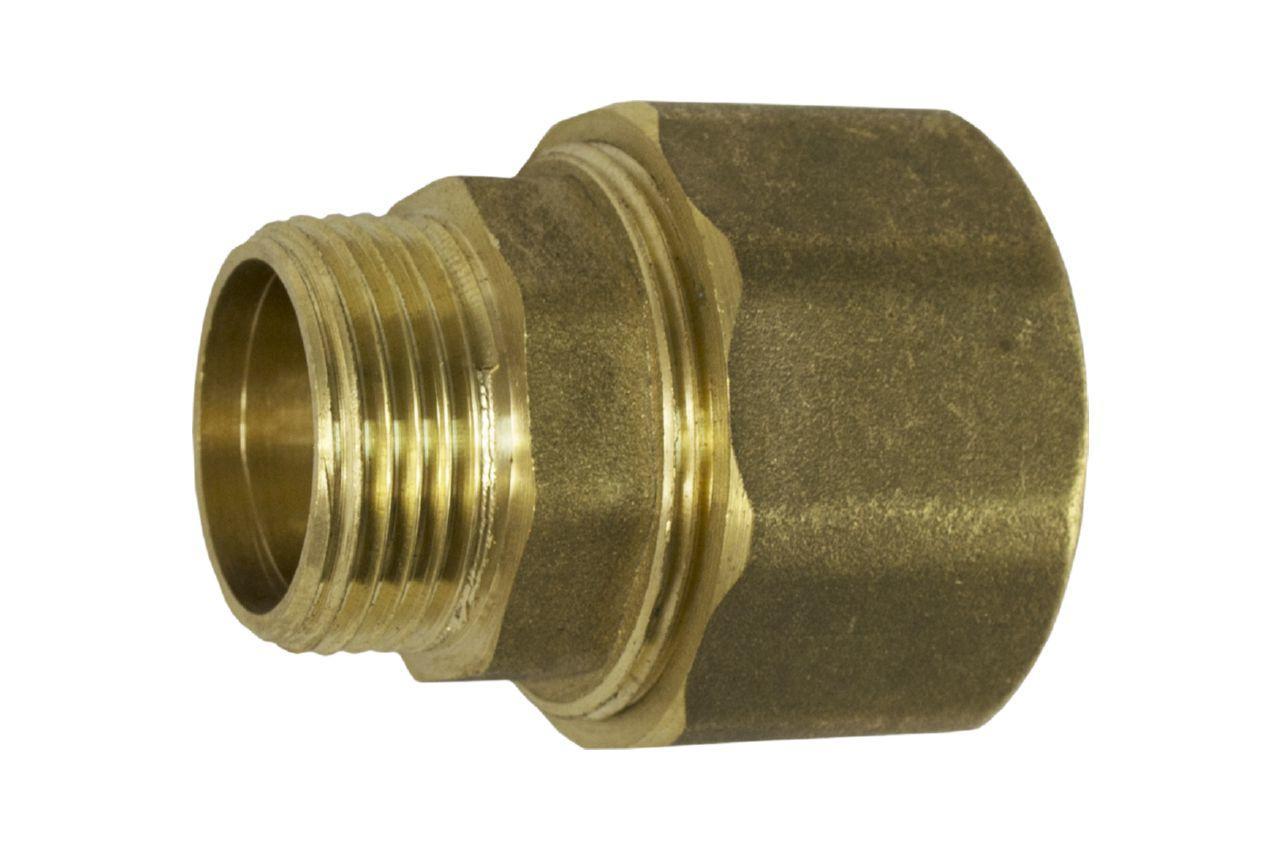 Сгон цанговый латунь STA - 3/4Н х 28 мм 1