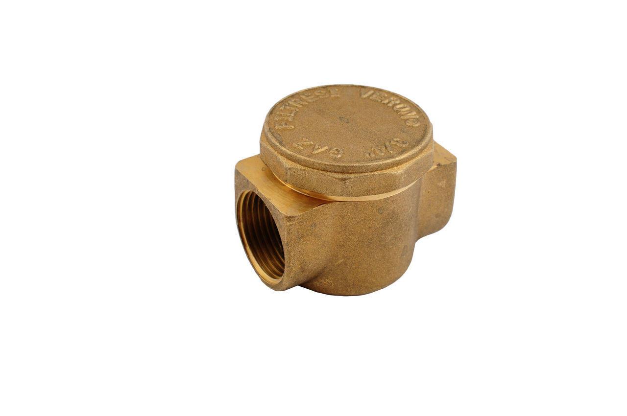 Фильтр для газа латунь Никифоров - 1/2В х 1/2В 1