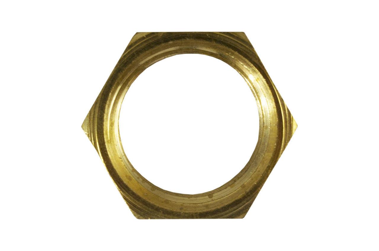 Контргайка латунь STA - 1/2 х 9 мм 2