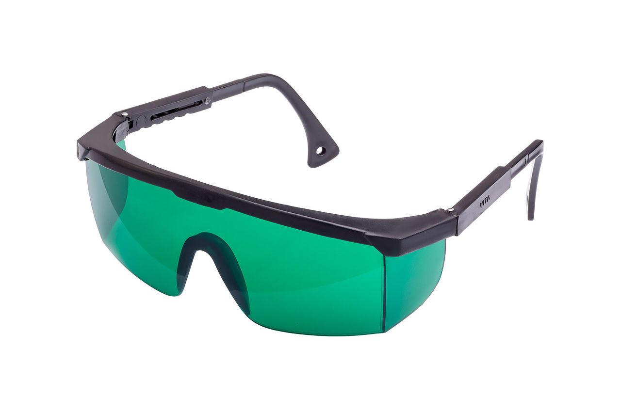 Очки защитные Vita - комфорт с регулируемой дужкой (зеленые) 1