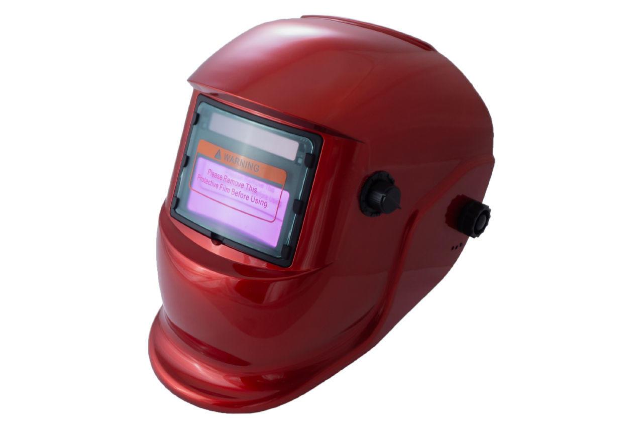 Маска сварочная Асеса - хамелеон TH-41-C300 красная 2