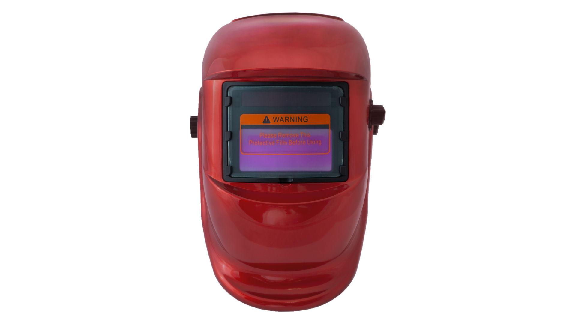 Маска сварочная Асеса - хамелеон TH-41-C300 красная 4