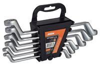 Набор накидных ключей Miol - 8 шт. (6-22 мм)