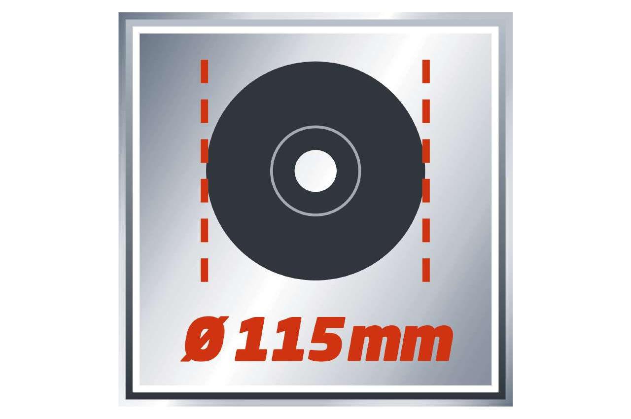 Угловая шлифмашина Einhell - TC-AG 115 Classic 2