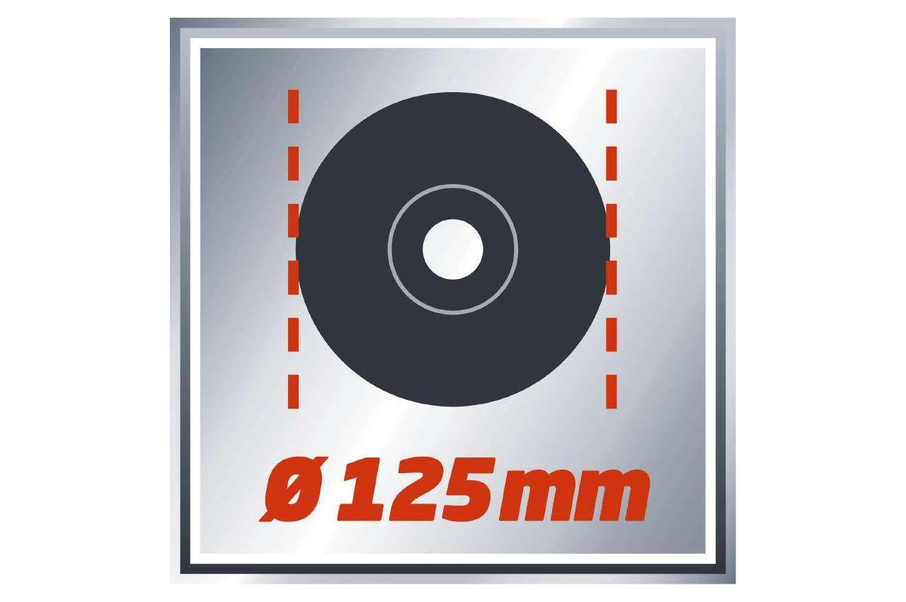 Угловая шлифмашина Einhell - TE-AG 125/750 Expert 2