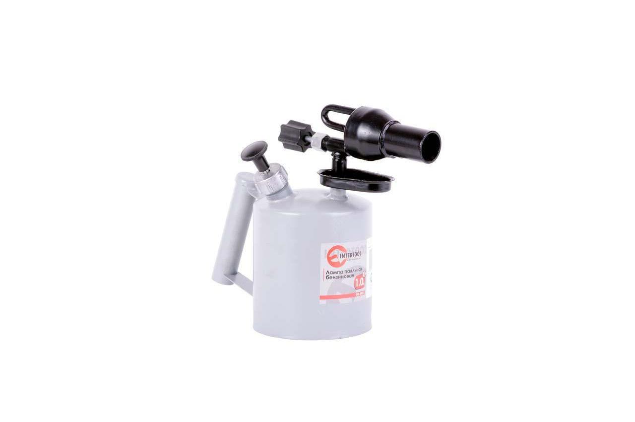 Паяльная лампа бензиновая Intertool - 1 л 3
