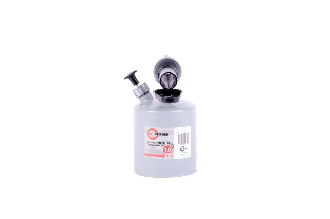 Паяльная лампа бензиновая Intertool - 1 л 4