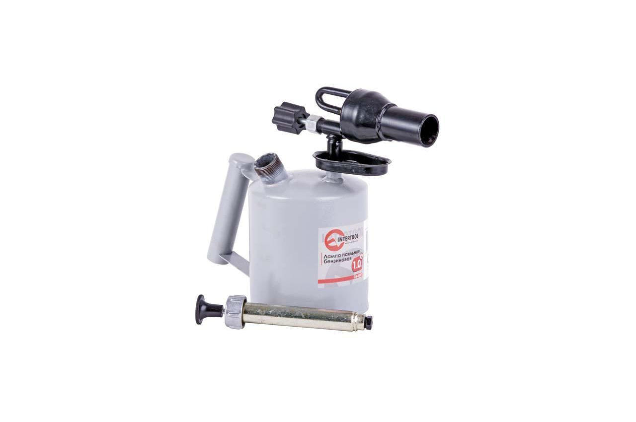 Паяльная лампа бензиновая Intertool - 1 л 10