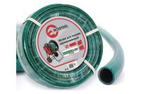 Шланг поливочный Intertool - 1/2 х 20 м, зеленый 3-х слойный