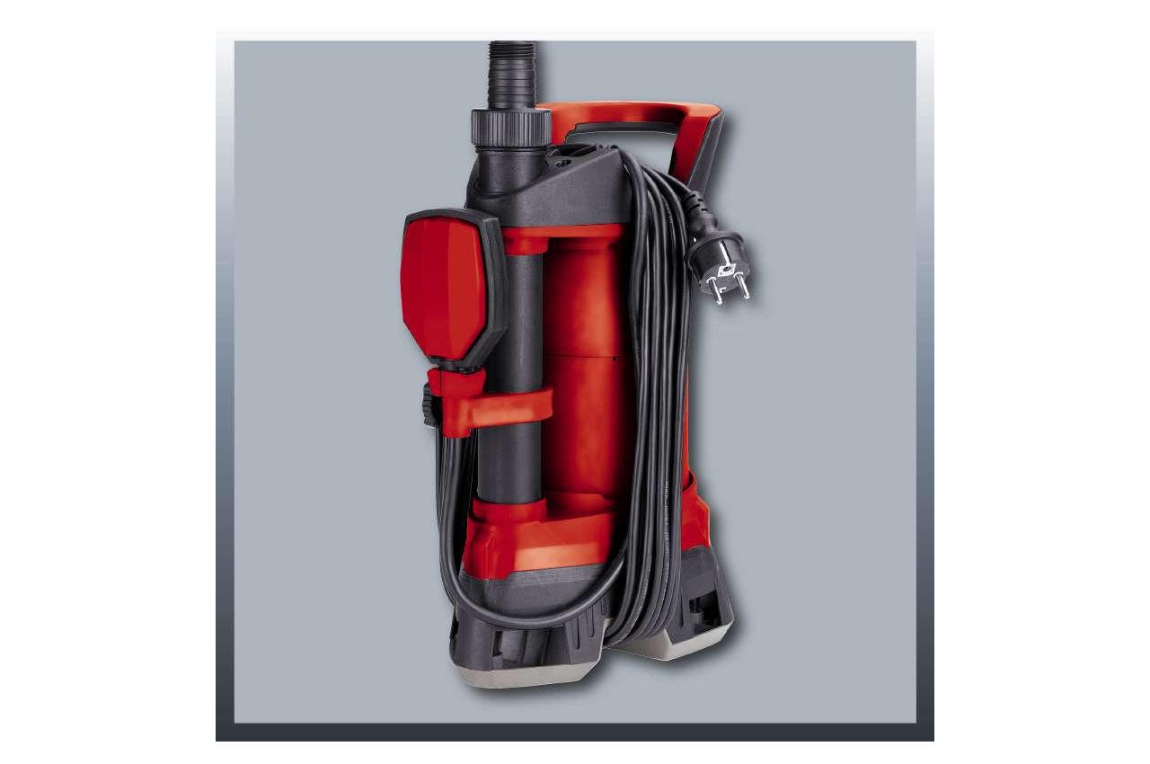 Насос дренажный Einhell - RG-DP 4525 ECO Red 4
