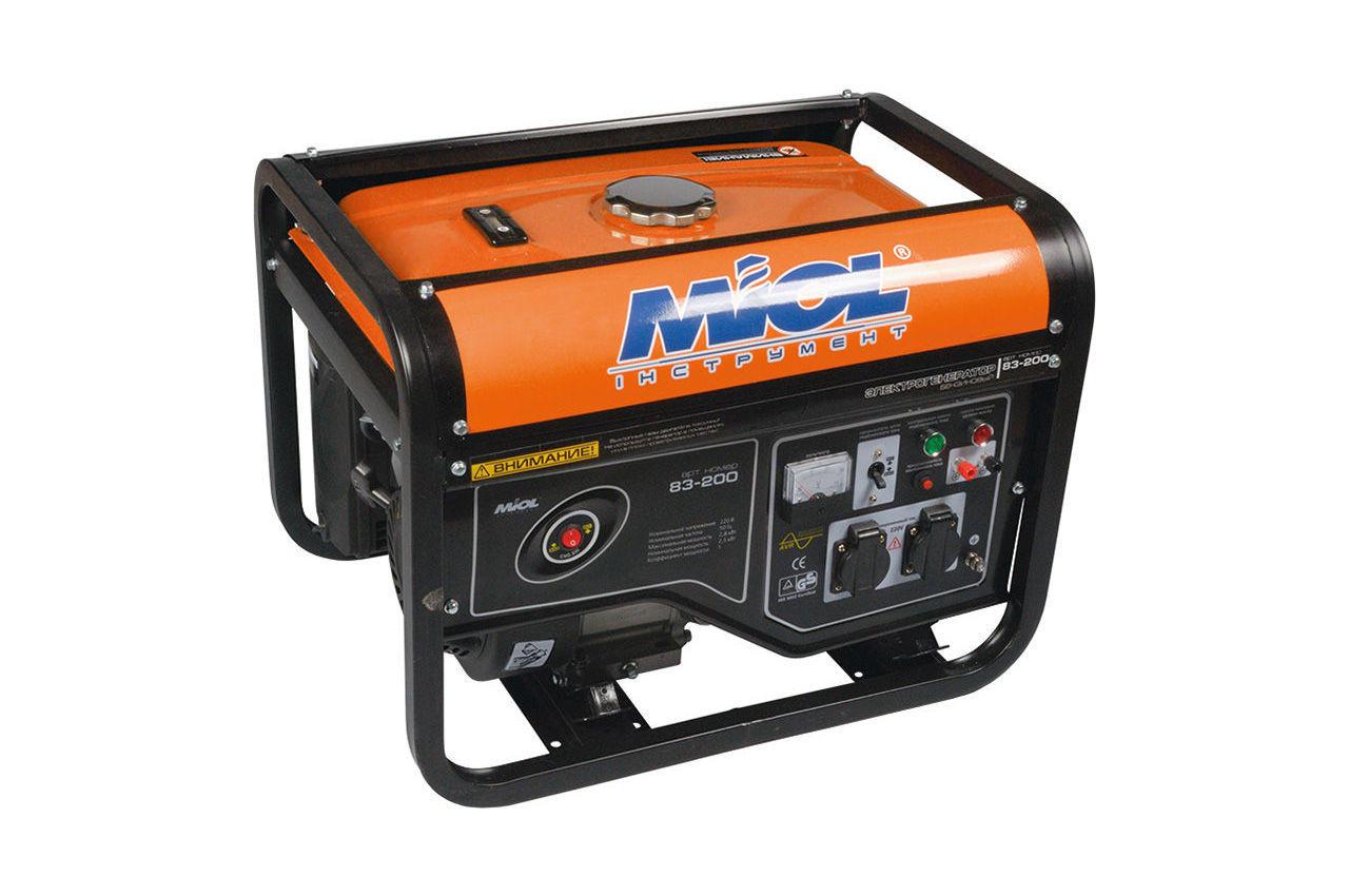 Генератор бензиновый Miol - 83-250 1