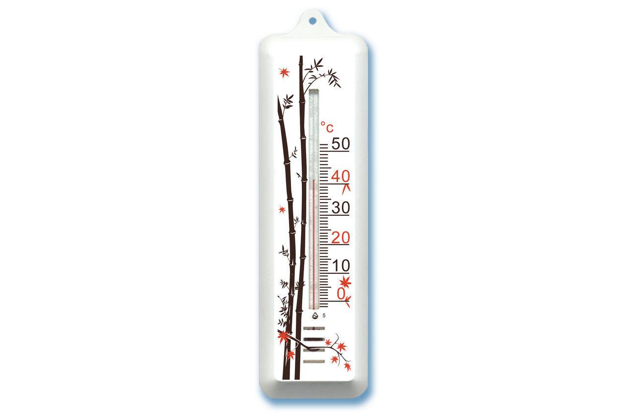 Термометр комнатный Стеклоприбор - (0/+50°C) П-7 бамбук 1