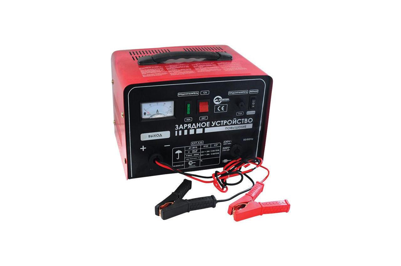 Зарядное устройство Intertool - 12 - 24В x 20А 1