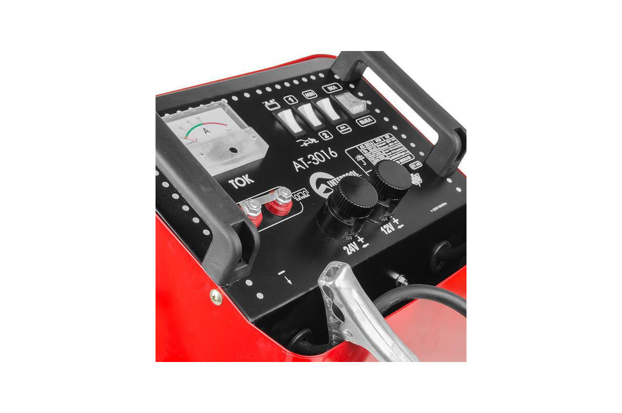 Пускозарядное устройство Intertool - 12 - 34В x 300А 3