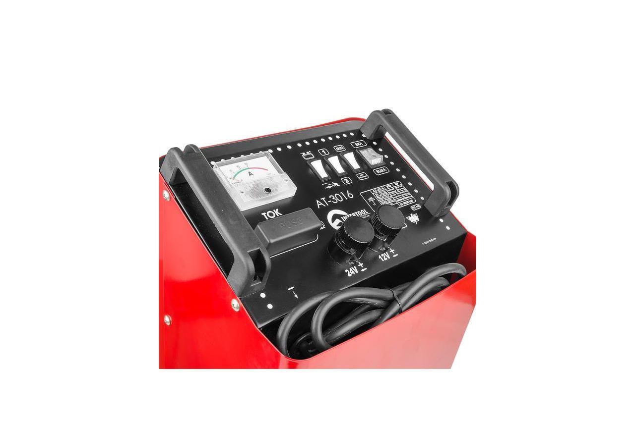 Пускозарядное устройство Intertool - 12 - 34В x 300А 12