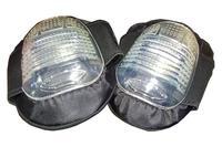 Наколенники Housetools - резиновые с силиконовой подушкой елочка (2 шт.)