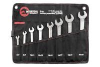 Набор рожковых ключей Intertool - 8 шт. (6-22 мм) Pro
