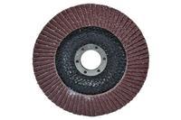 Круг лепестковый торцевой Housetools - 125 мм x Р150, изогнутый