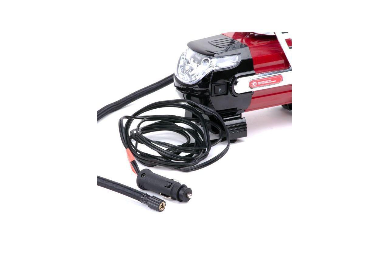 Миникомпрессор автомобильный Intertool - 12В x 7 bar x 30 л/мин 5
