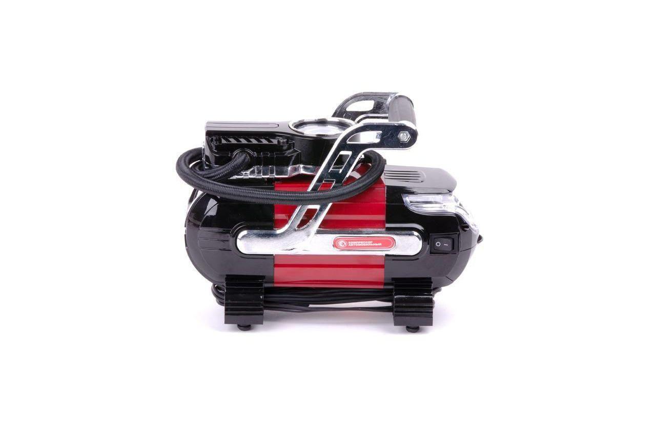 Миникомпрессор автомобильный Intertool - 12В x 7 bar x 30 л/мин 9