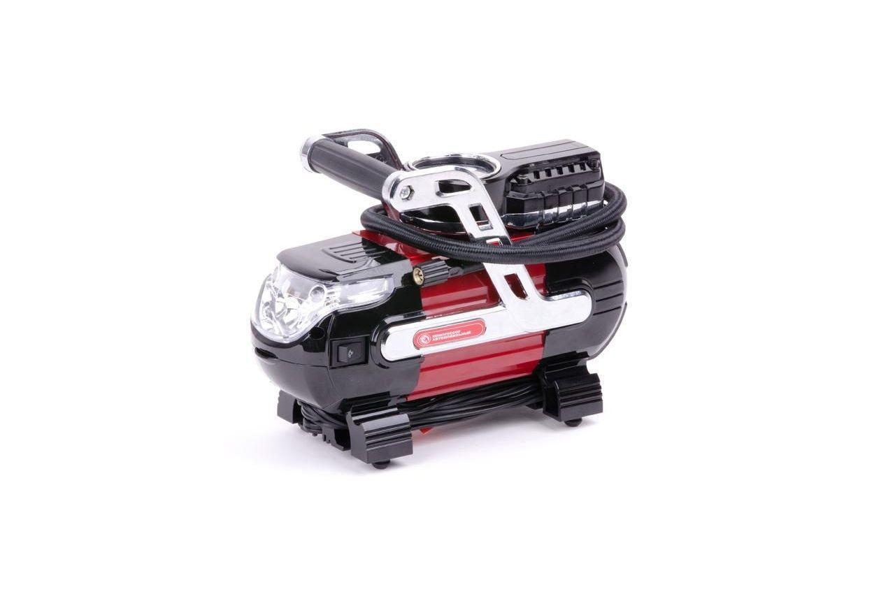 Миникомпрессор автомобильный Intertool - 12В x 7 bar x 30 л/мин 12