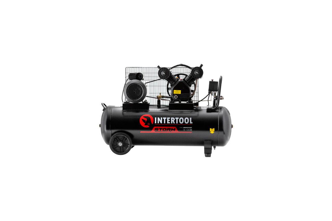 Компрессор Intertool - 100 л x 3 кВт 1
