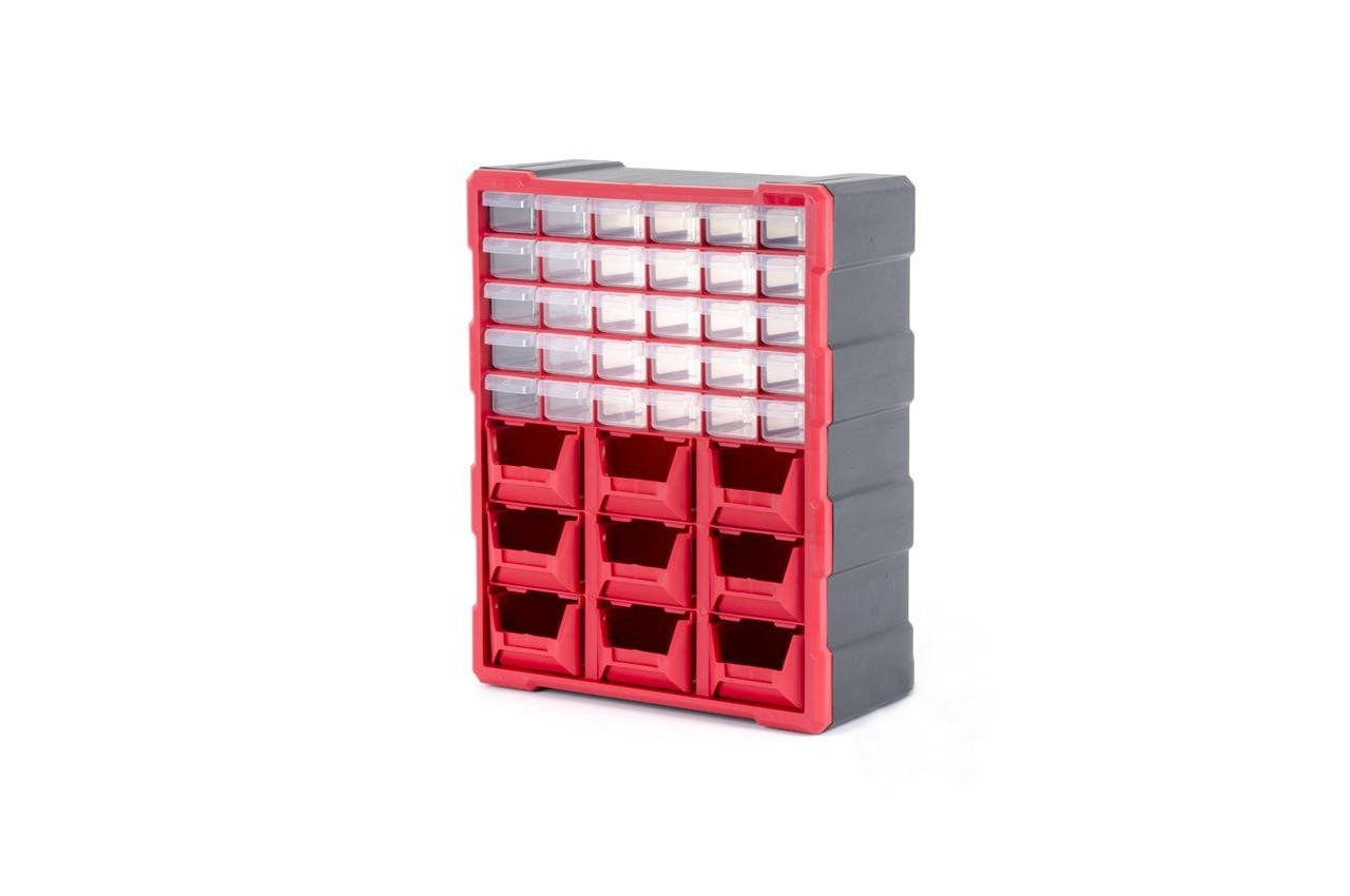 Органайзер для метизов Intertool - 19 475 x 380 x 160 мм BX-4015 1