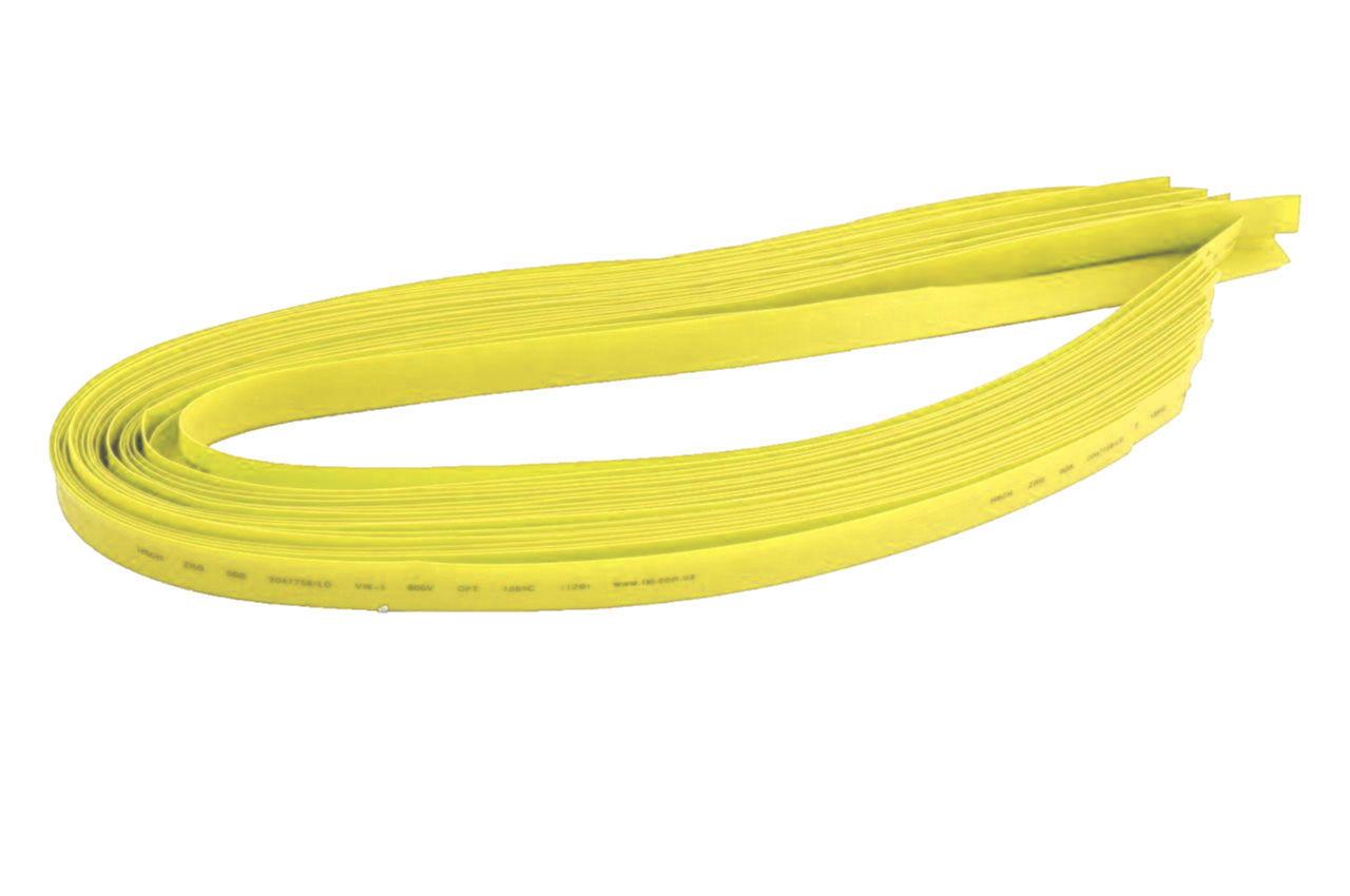Трубка термоусадочная Apro - 1 мм x 30 м, желтая 1