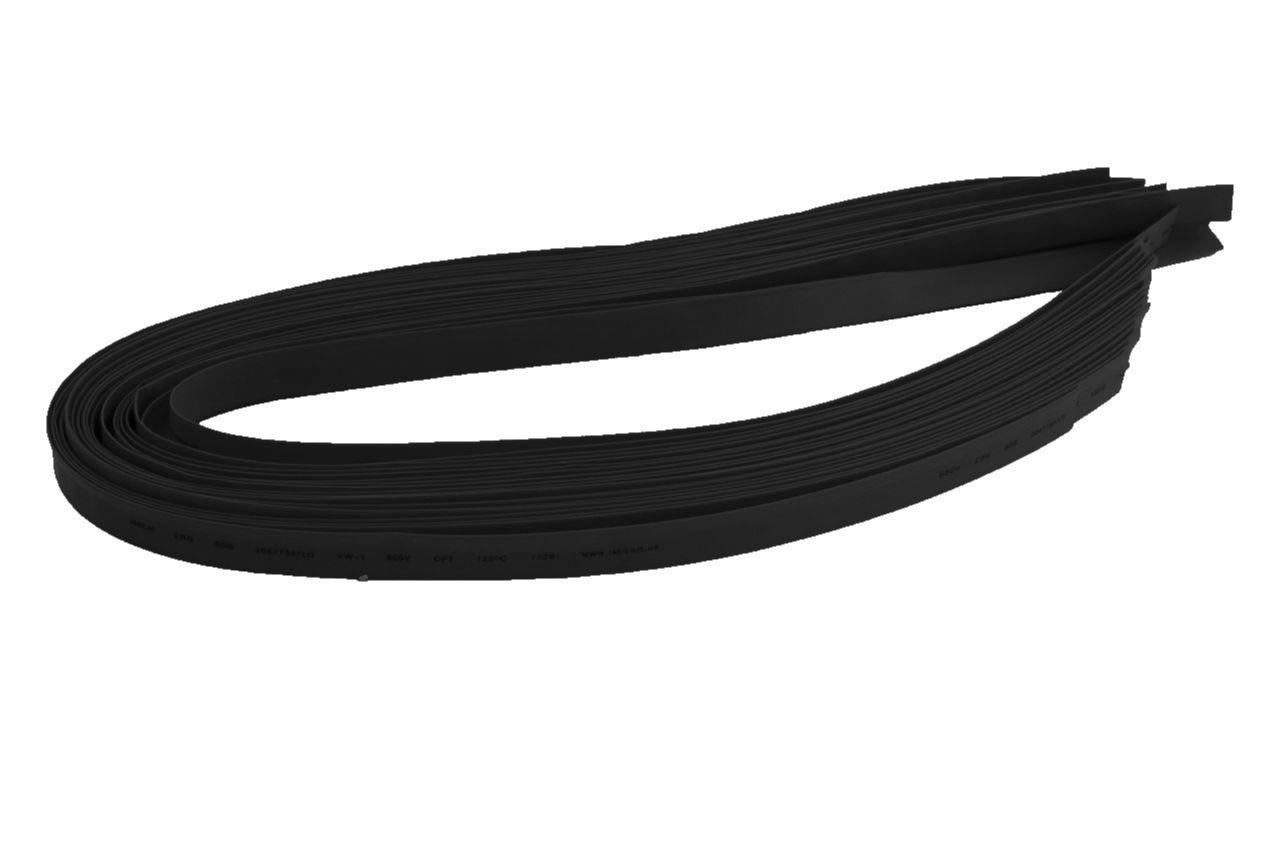 Трубка термоусадочная Apro - 1,5 мм x 200 м, черная 1