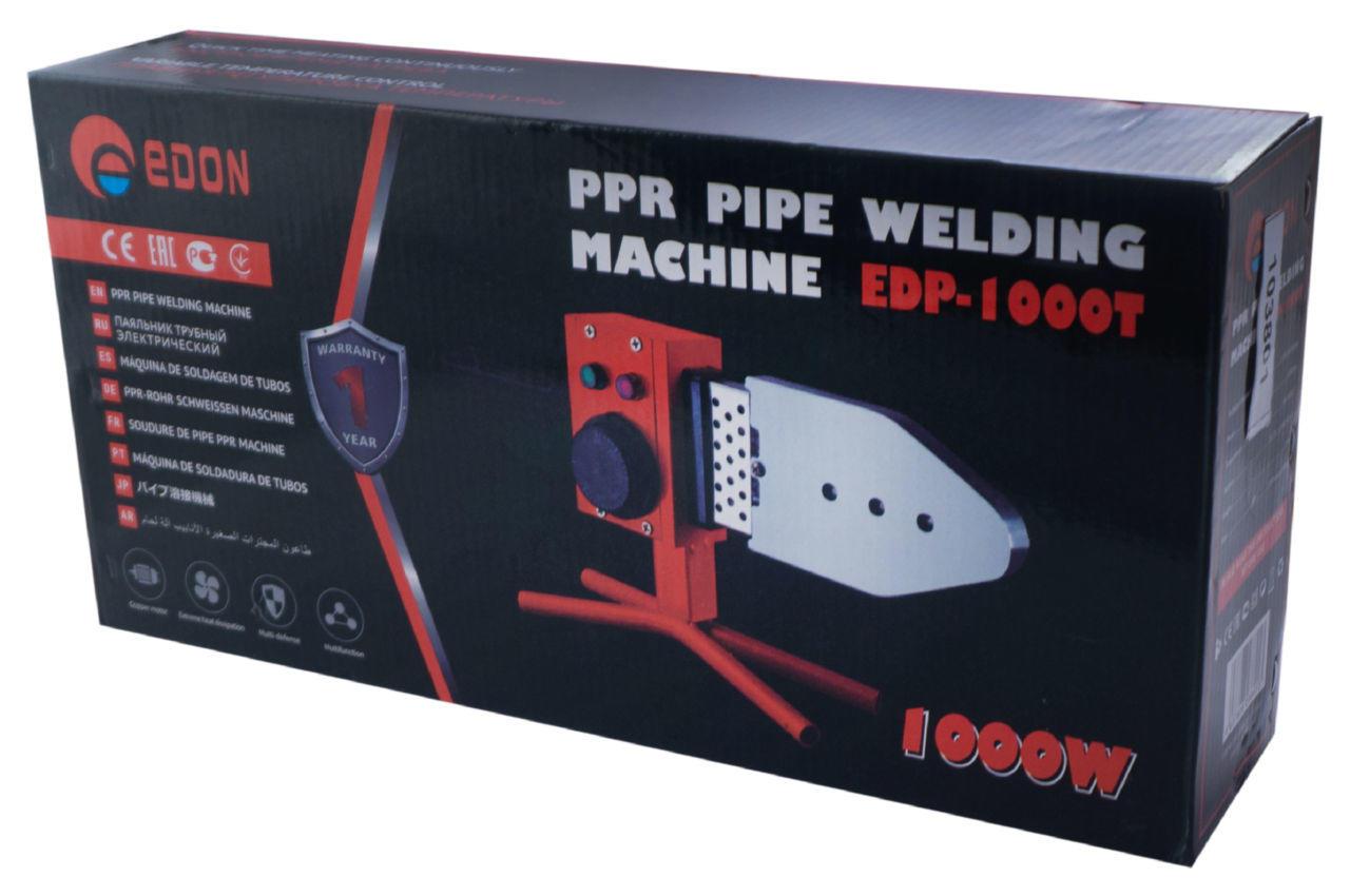 Паяльник PP-R труб Edon - EDP-1000T 9