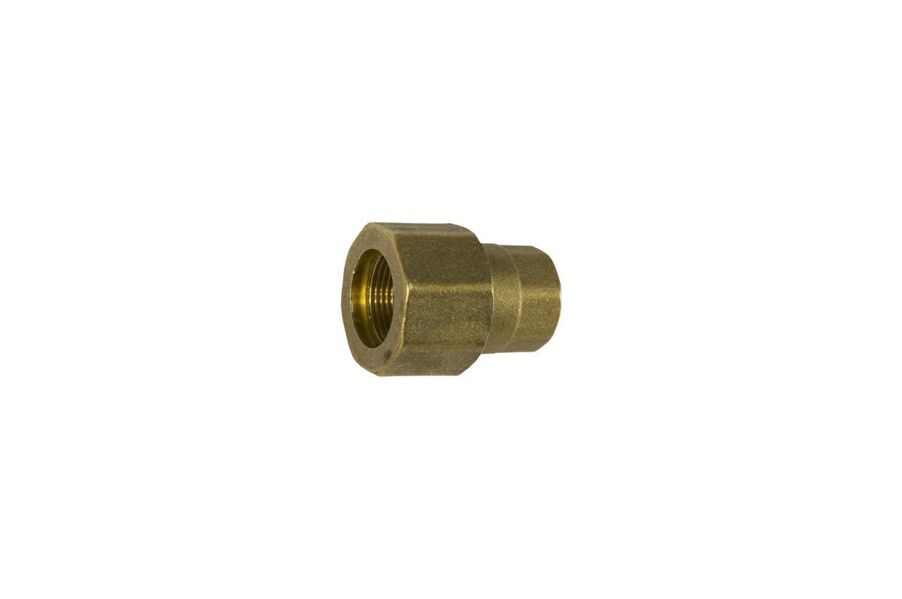 Сгон цанговый латунь STA - 1-1/2В x 49 мм 1