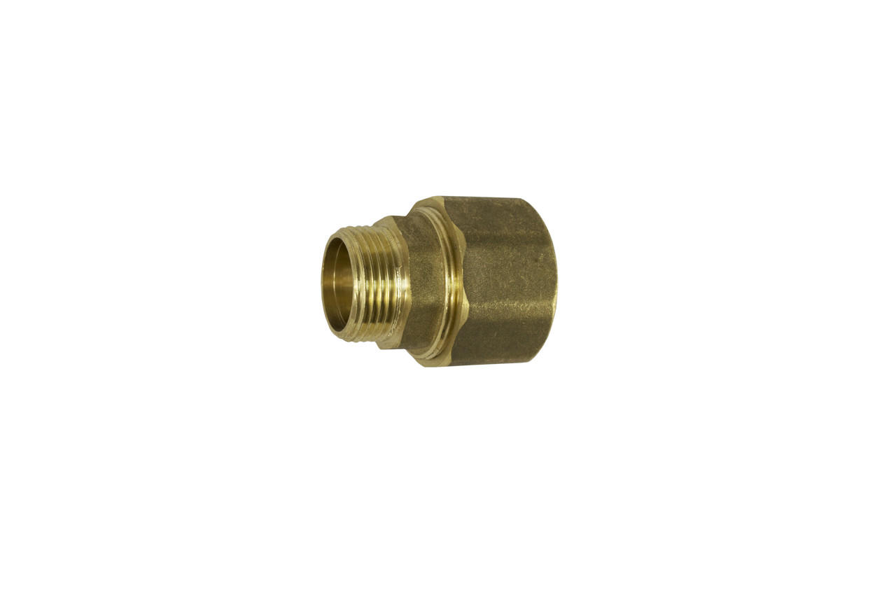Сгон цанговый латунь STA - 1-1/2Н x 49 мм 1