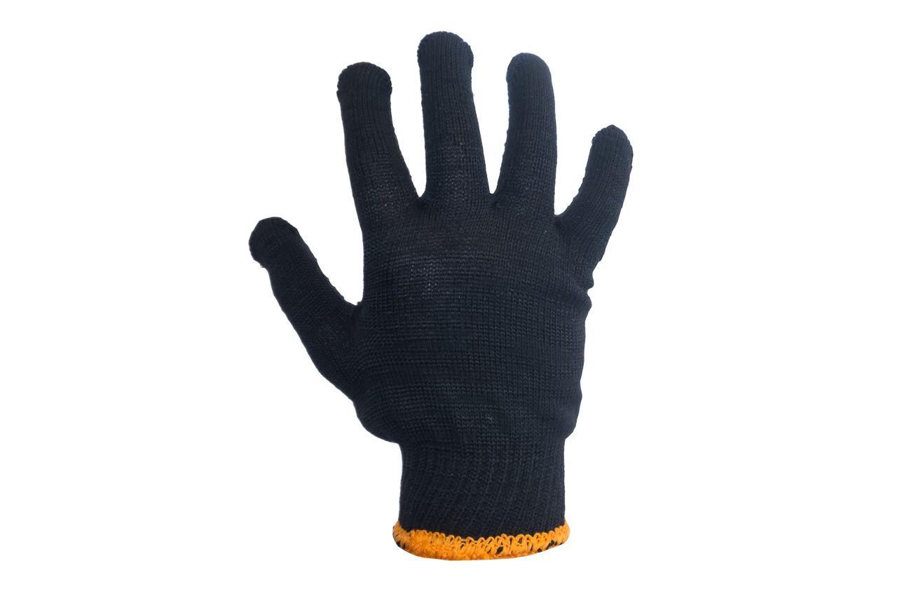 Перчатки Intertool - 70/30 с точкой 68г черные 10 2
