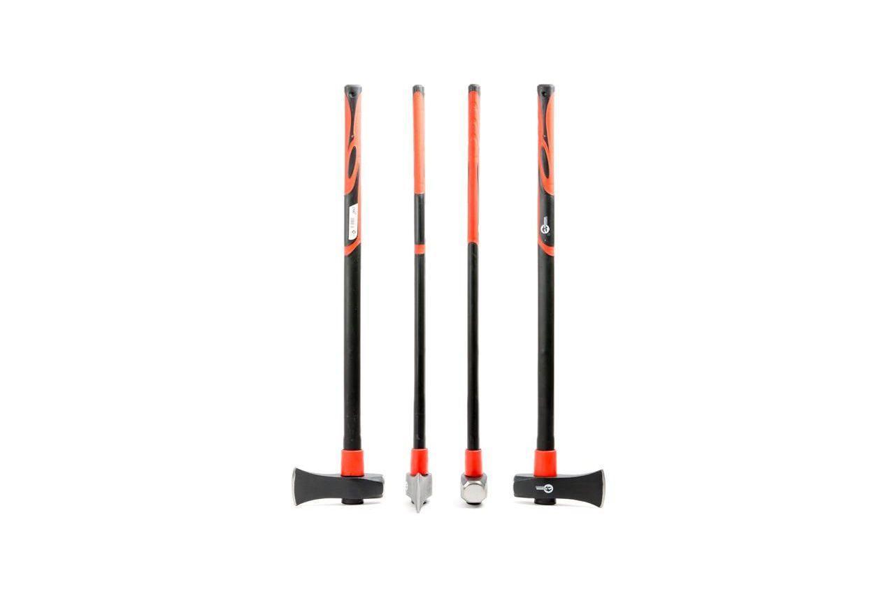 Топор-колун Intertool - 2500 г длинная ручка фибергласс 8