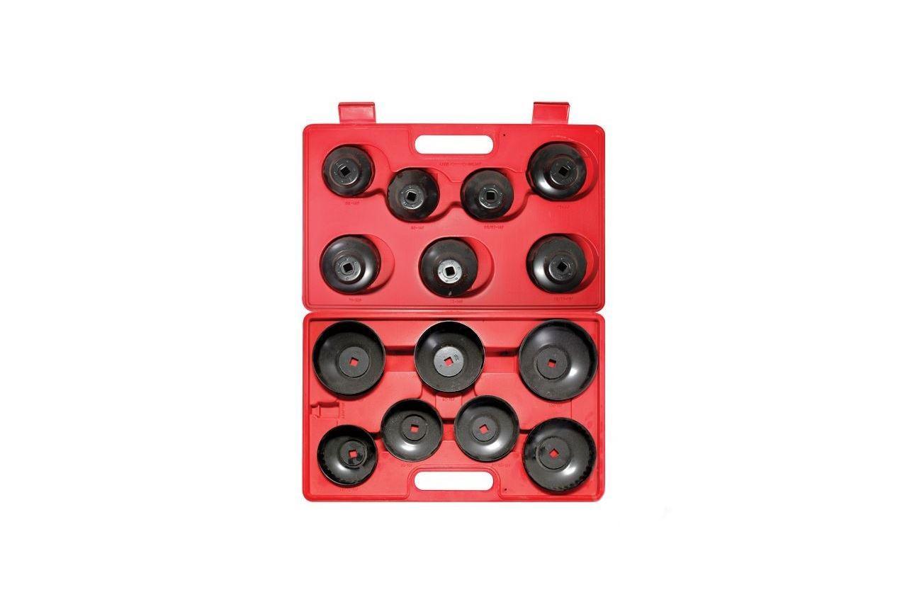Набор съёмников фильтров Intertool - колпачки (14 шт.) 1