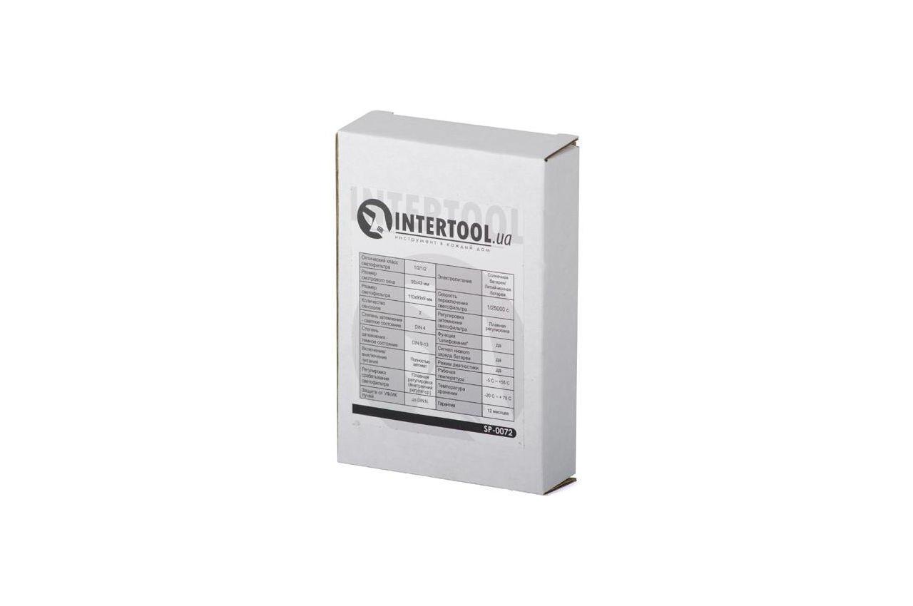Светофильтр к маске хамелеон Intertool - 92 x 42 мм плавная SP-0072 5