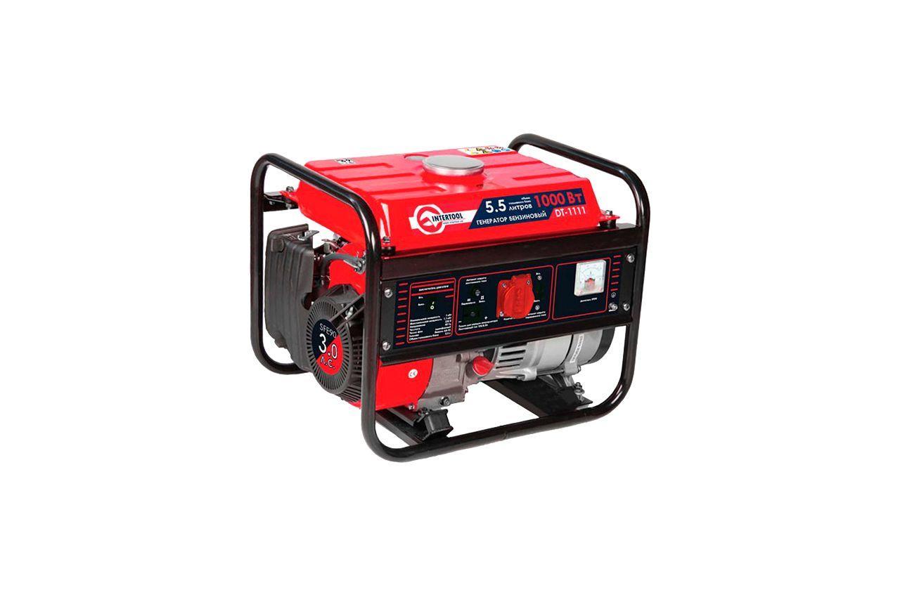 Генератор бензиновый Intertool - 1 кВт 1