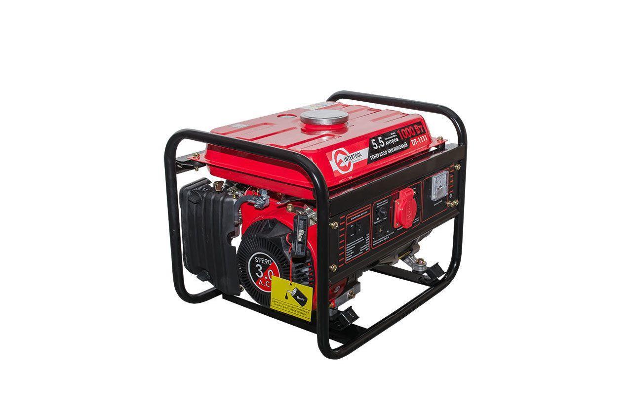 Генератор бензиновый Intertool - 1 кВт 2