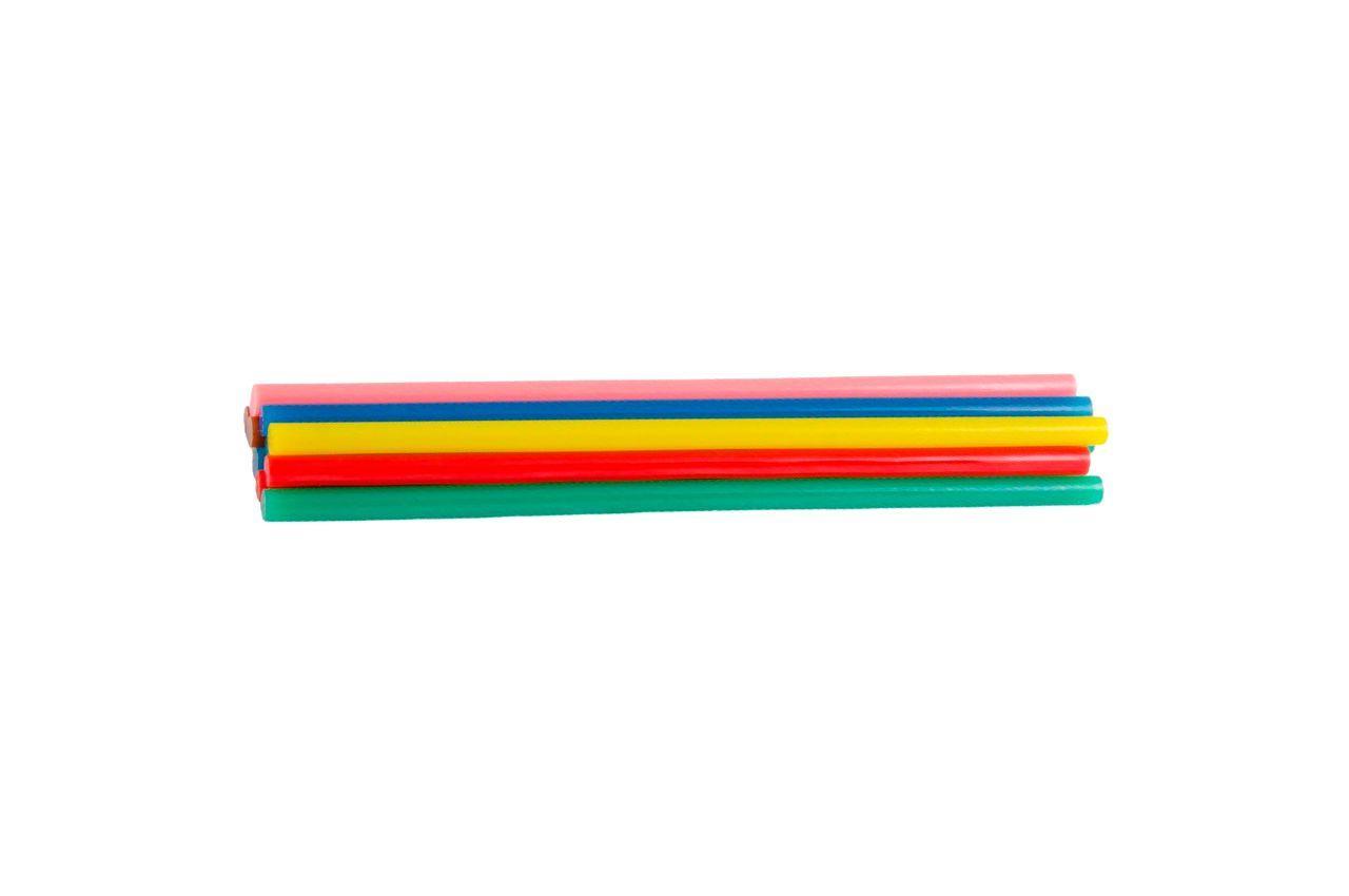 Клеевые стержни Mastertool - 11,2 x 200 мм, цветные (12 шт.) 1