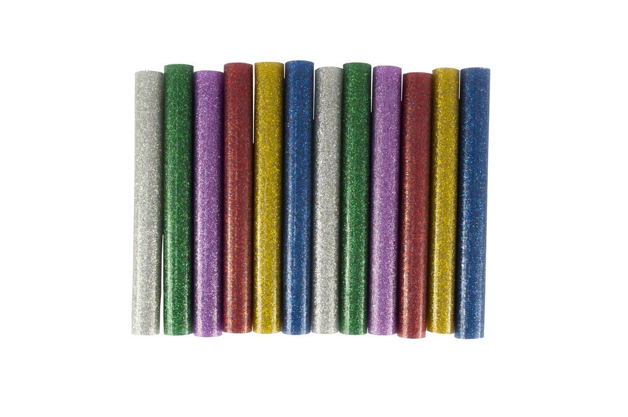 Клеевые стержни Mastertool - 11,2 x 100 мм, цветные перламутровые (12 шт.) 2