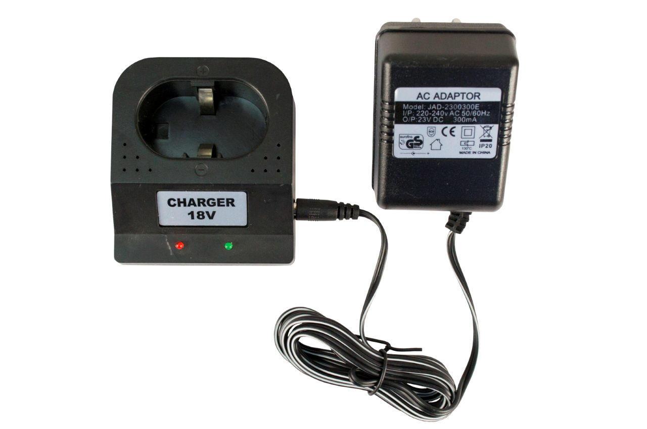 Зарядное устройство для аккумуляторных батарей шуруповерта Асеса - 18 В 1