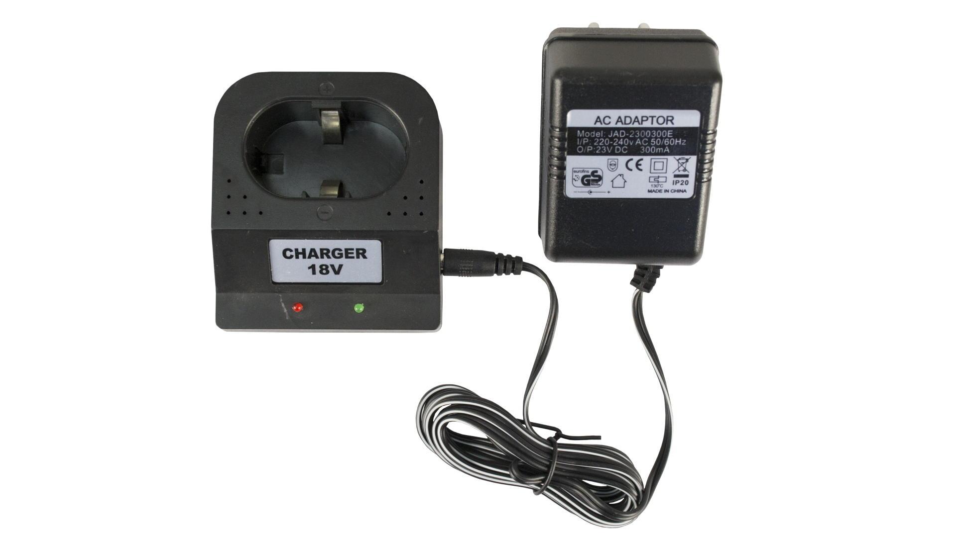 Зарядное устройство для аккумуляторных батарей шуруповерта Асеса - 18 В 2