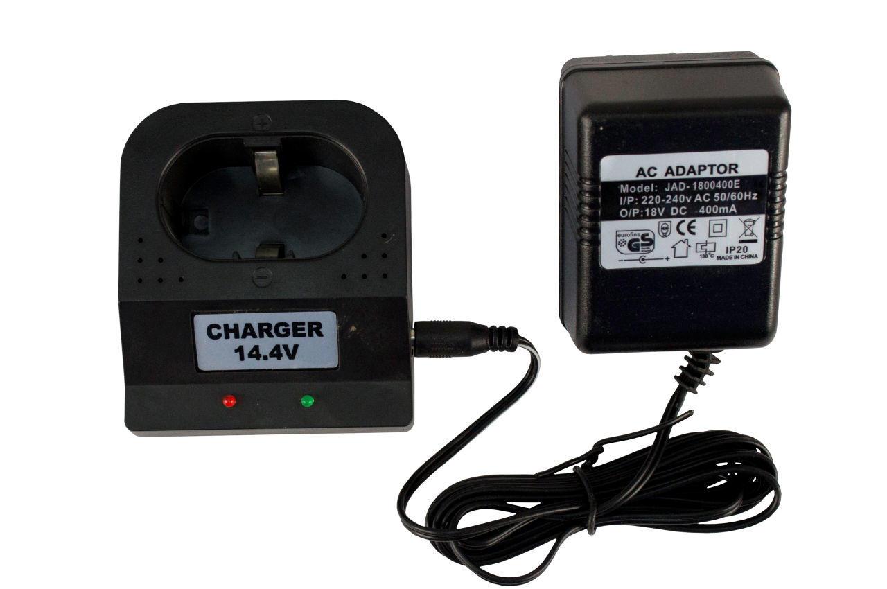 Зарядное устройство для аккумуляторных батарей шуруповерта - 14,4 В 1