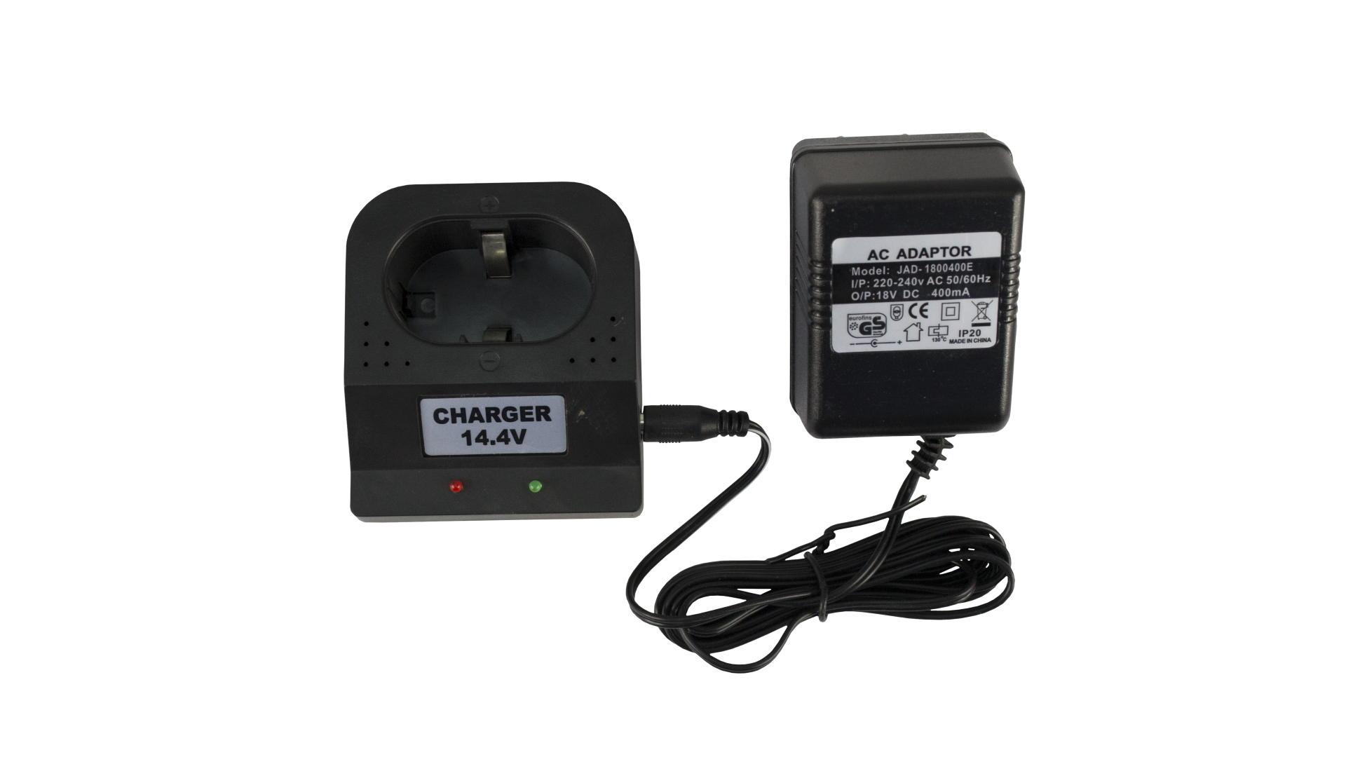 Зарядное устройство для аккумуляторных батарей шуруповерта Асеса - 14,4 В 2